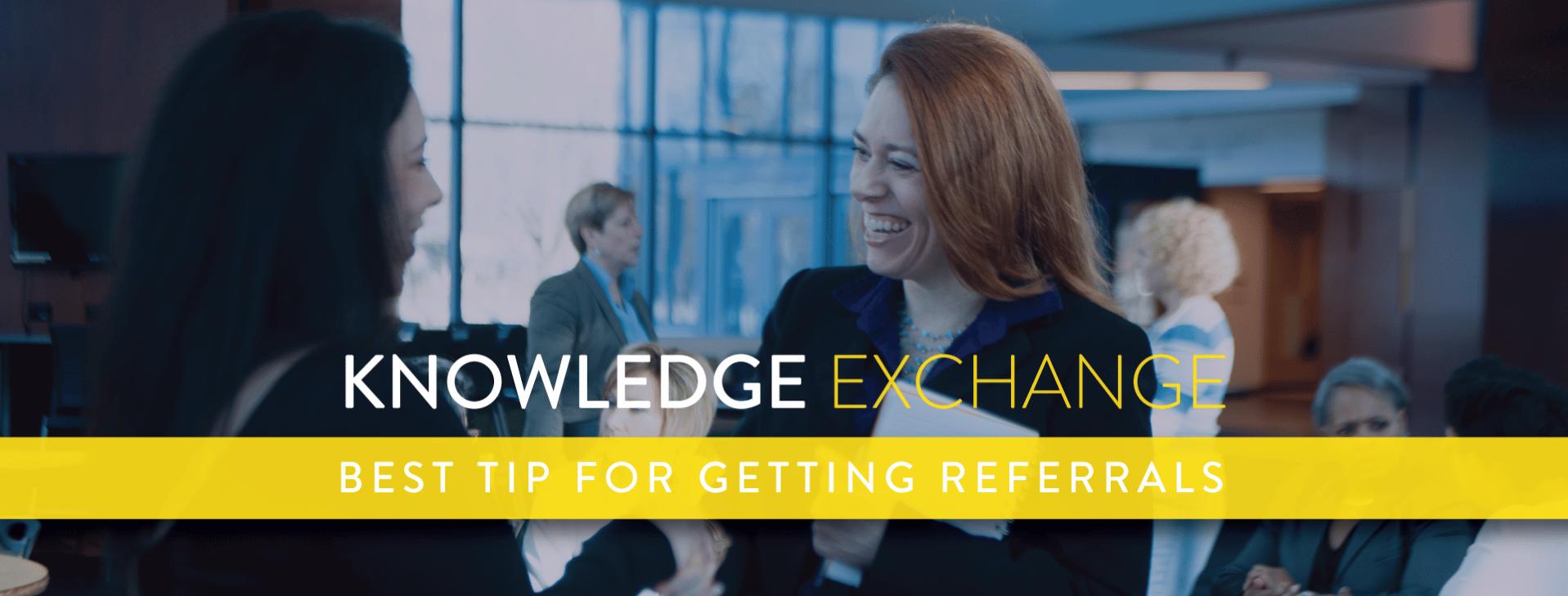 knowledge exchange graphic
