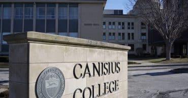 Canisius College sign